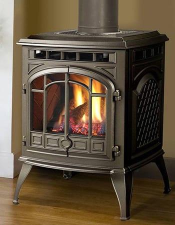 indoor gas fireplace