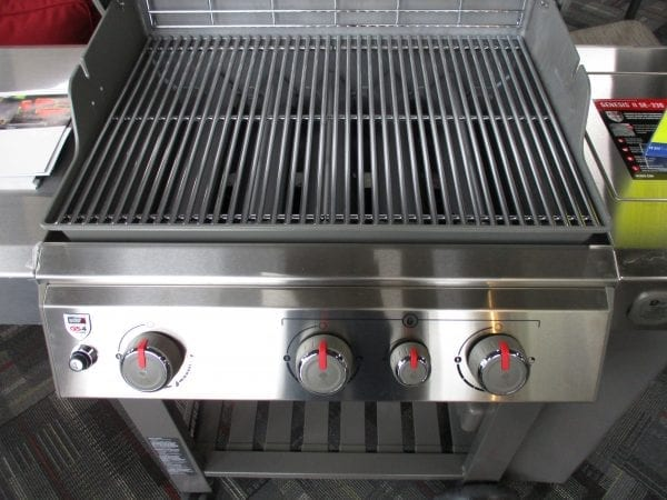 Close Up of Open Grill